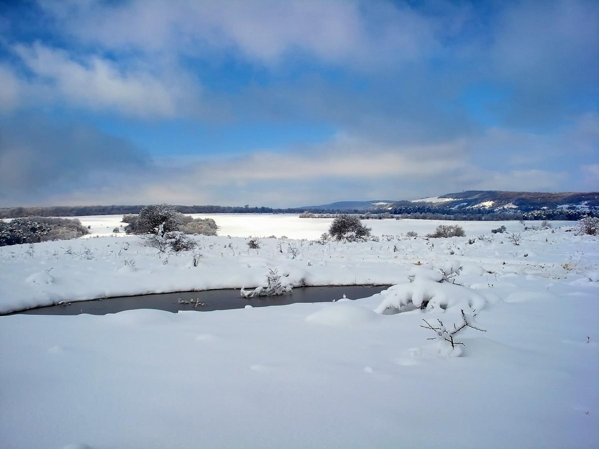 landscape sky clouds snow - photo #40