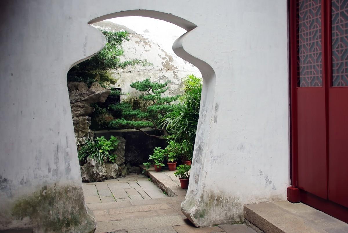 Images gratuites architecture maison mur cambre - Effroyables jardins histoire des arts ...