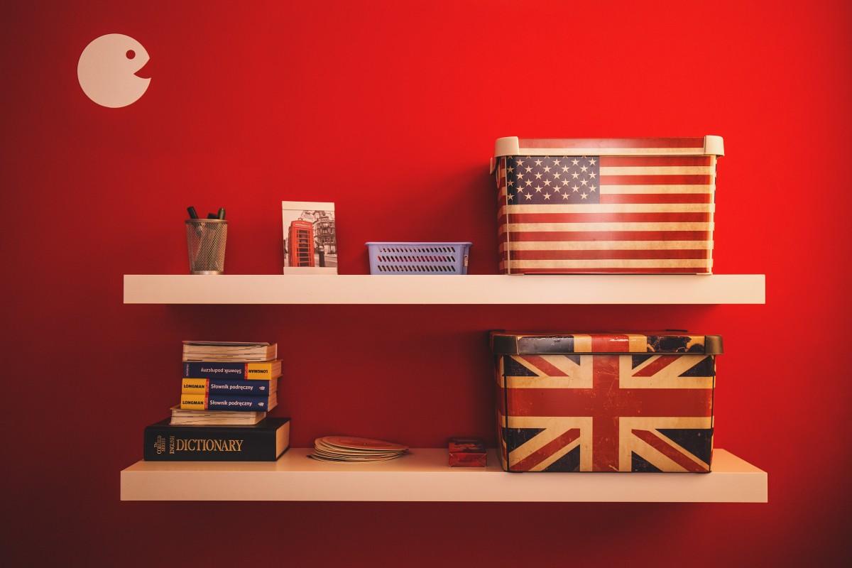 Kostenlose foto  Innere Mauer rot USA amerikanische Flagge