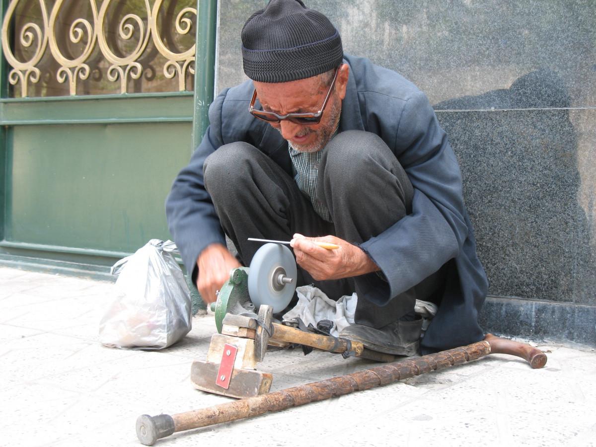 Kostenlose foto : Arbeiten, Person, scharf, Suchen, alter