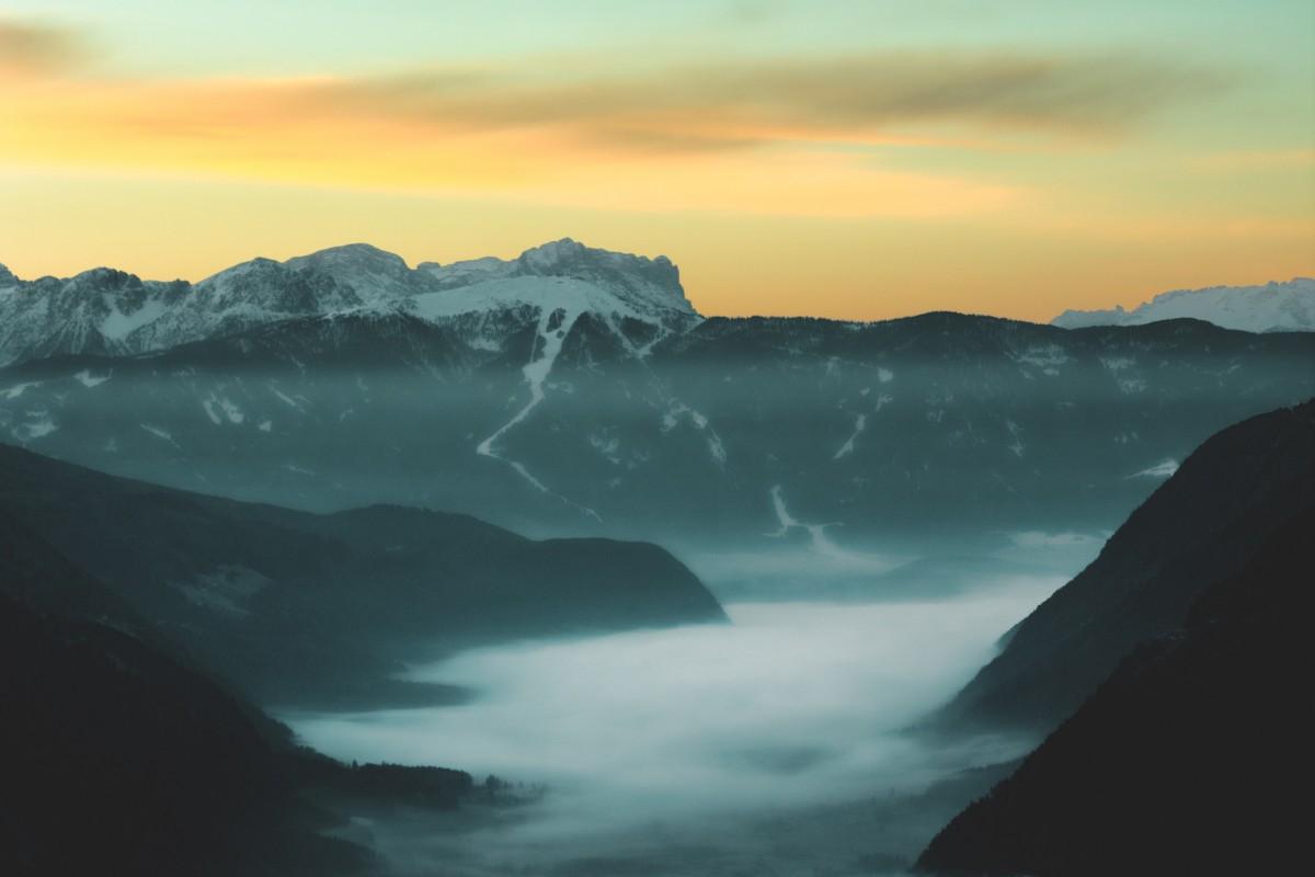 Immagini Belle : Nuvole, Campagna, Alba, Sfondo Del