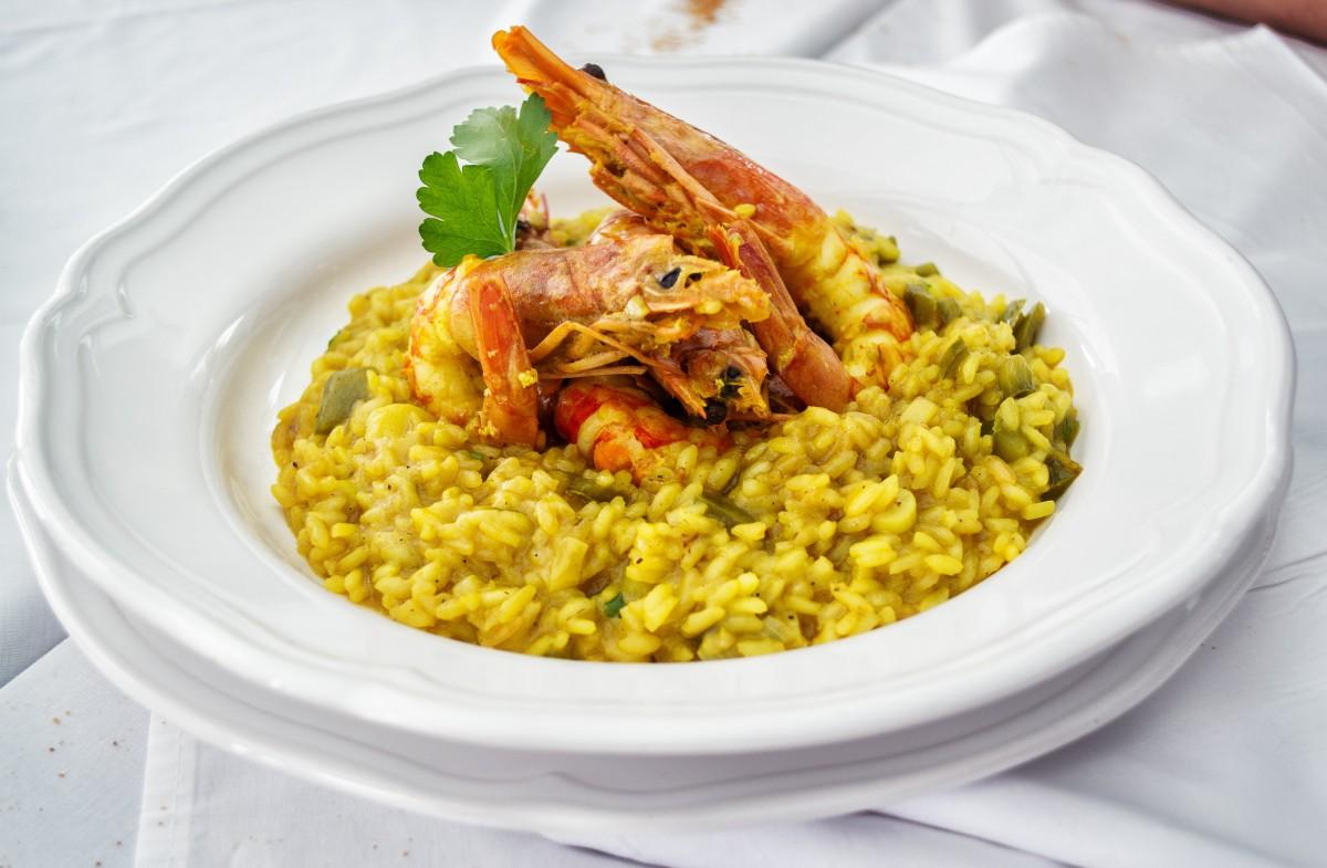 Fotos gratis plato verde produce vegetal cocina - Risotto arroz integral ...