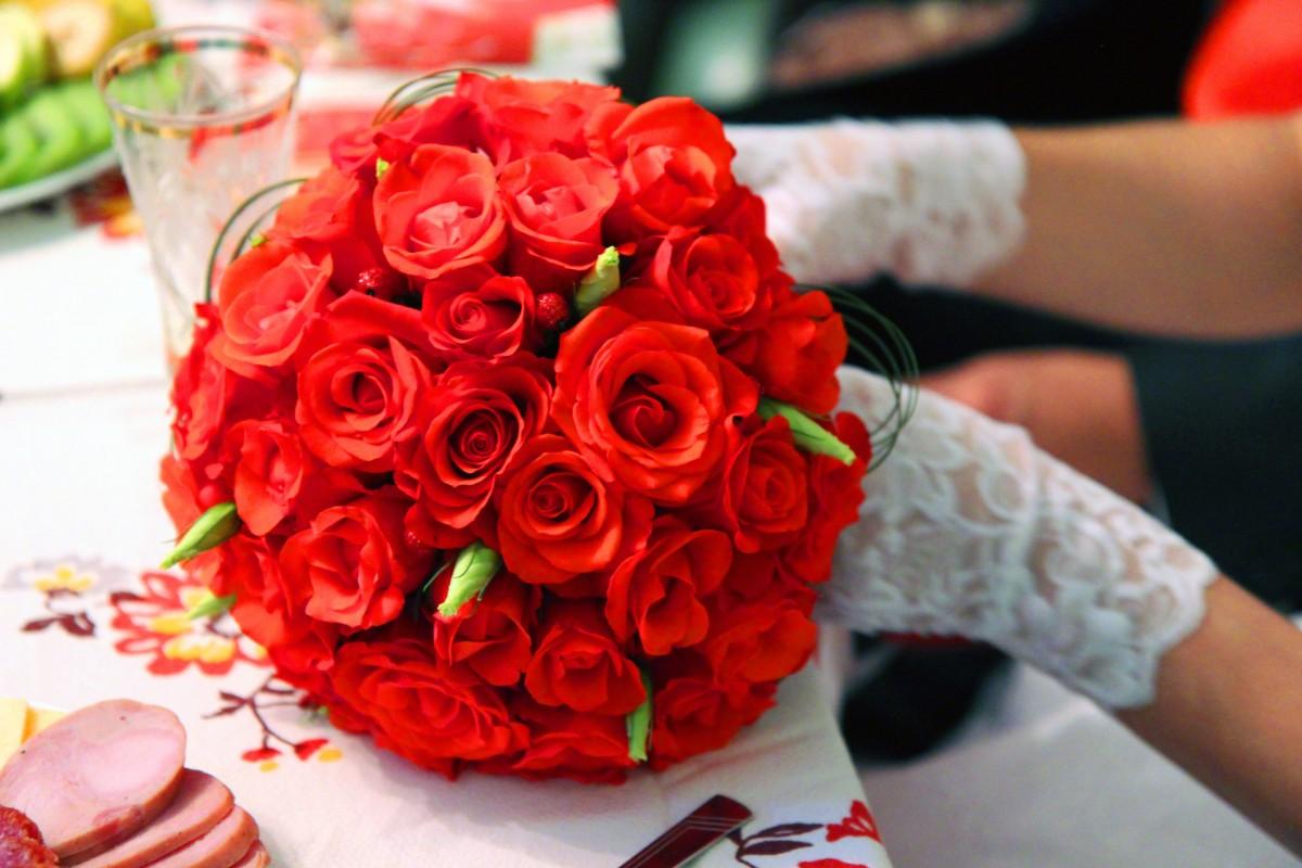 Кошками, цветы фото на свадьбу открытка