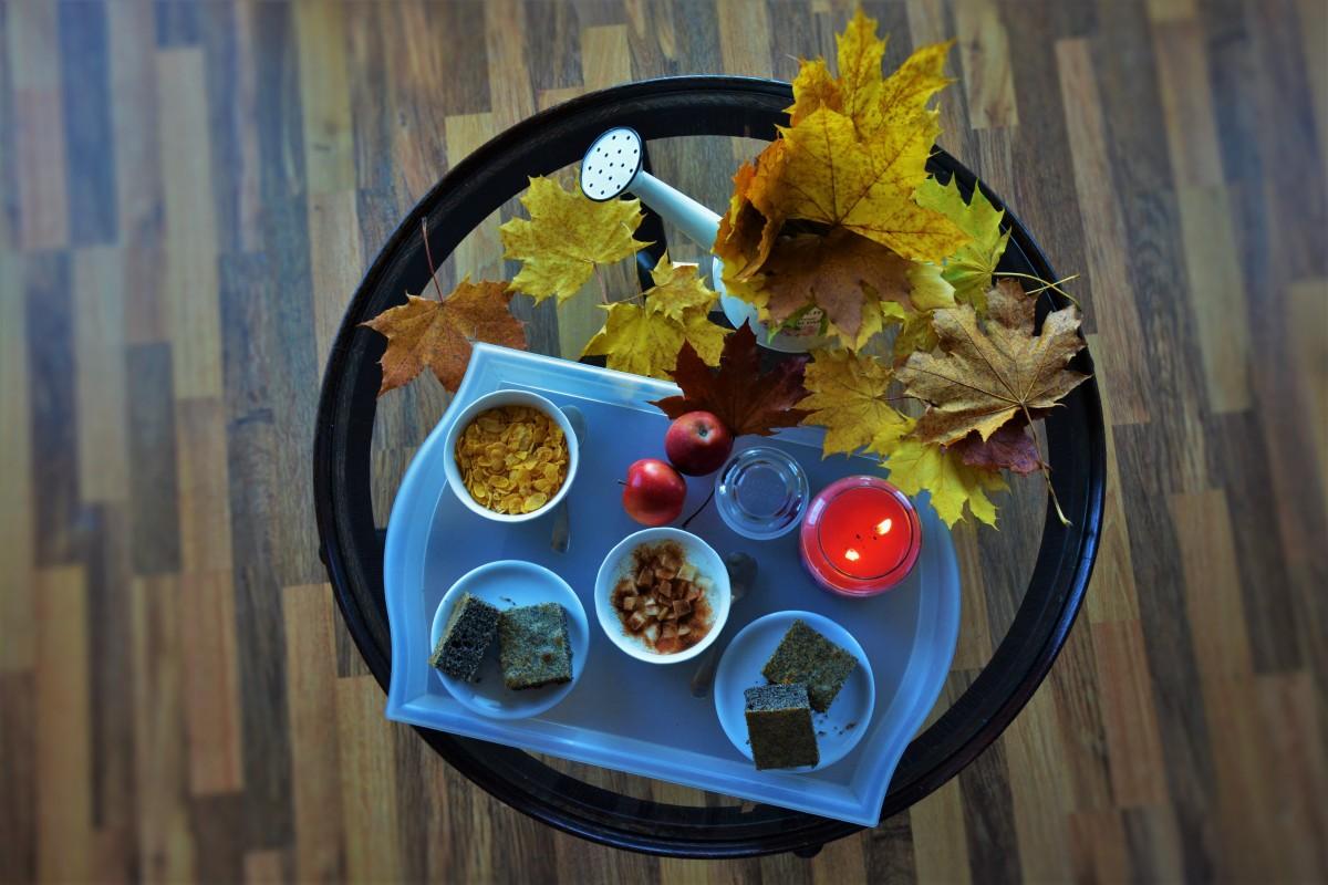 картинки с добрым утром с едой осенние красивые защиту