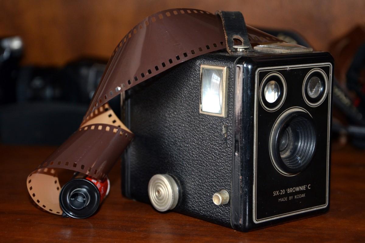 Красивые фотоаппараты с ретро стилем