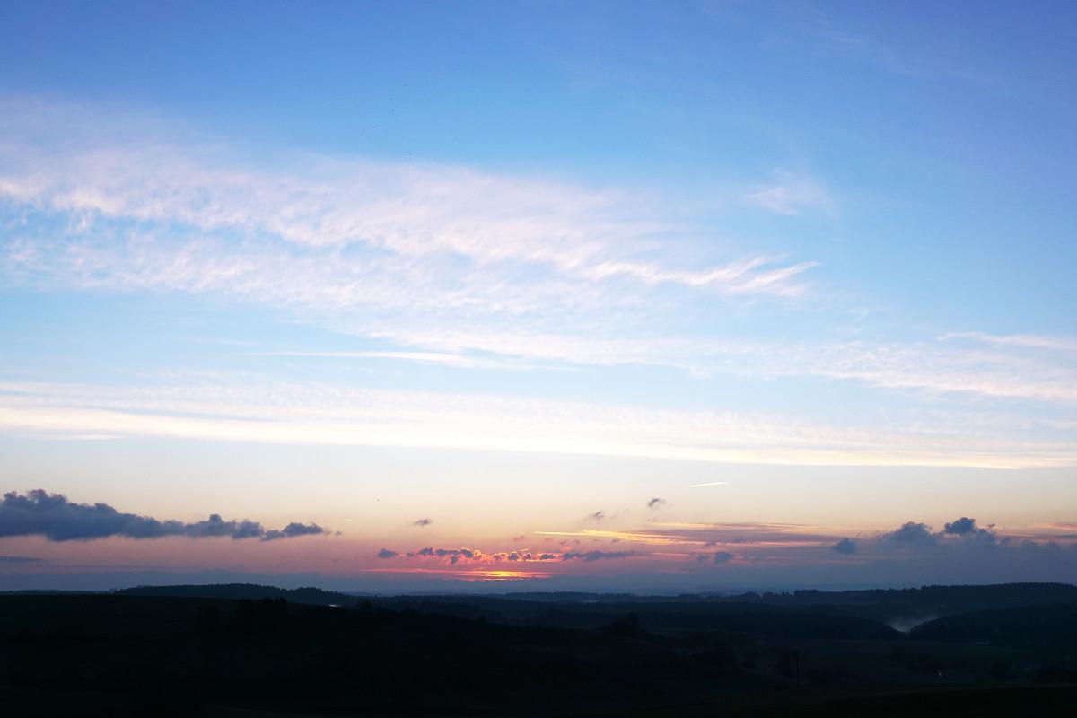 Free Images Landscape Horizon Light Sun Sunrise Sunset Sunlight Hill Dawn Atmosphere