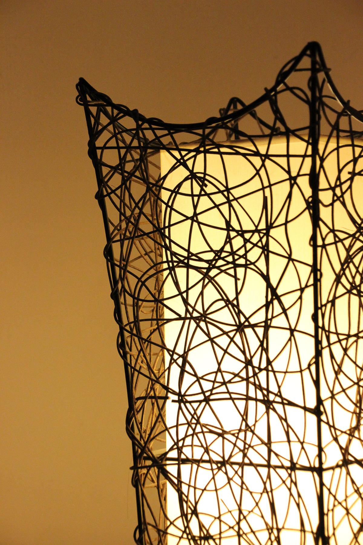 Kostenlose Foto Ast Zaun Draht Linie Lampe Beleuchtung