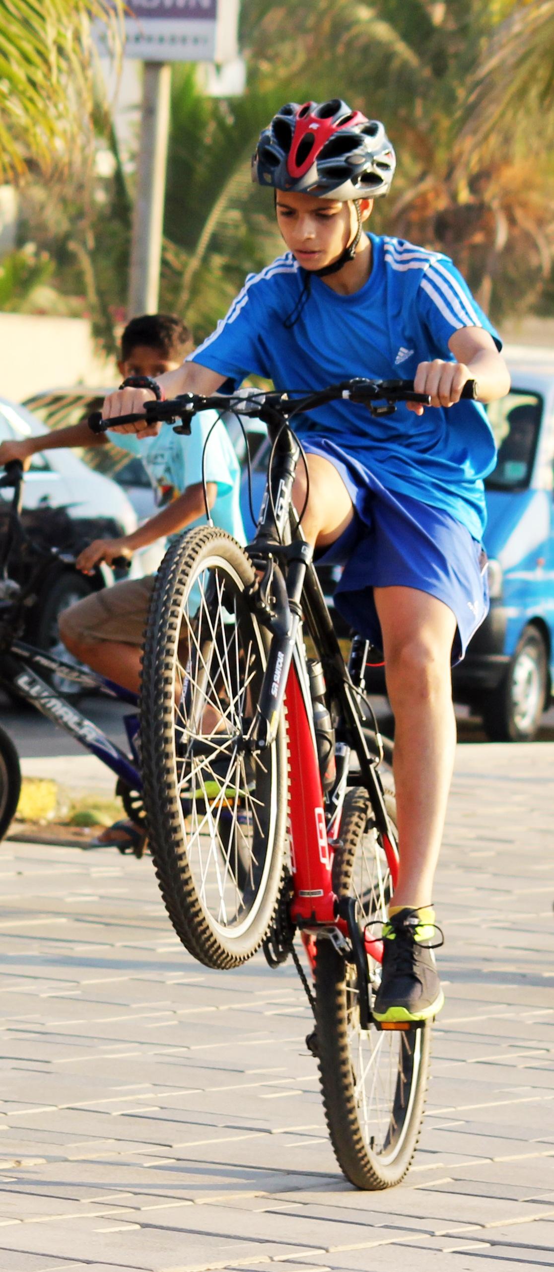 Экстремальный спорт на велосипеде