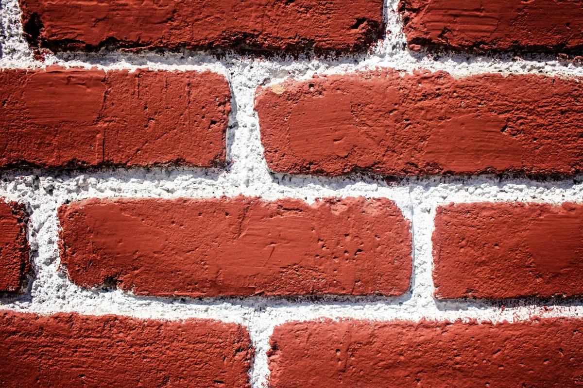 Lieblich Haus Textur Stock Alt Städtisch Mauer Asphalt Bau Muster Rot Farbe Boden Außen  Ziegel Material Oberfläche