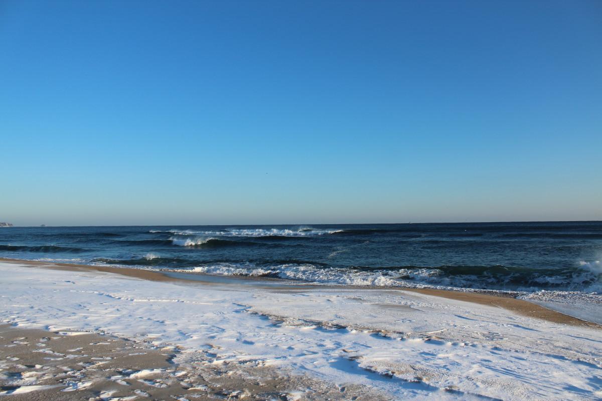 Free images beach coast sand ocean horizon shore for Fond ecran plage gratuit