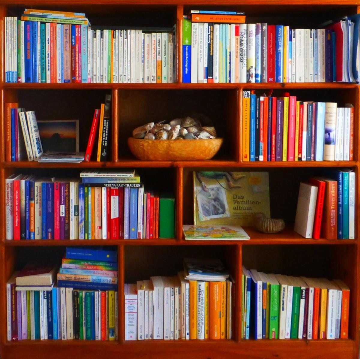 Fotos gratis libro leer colecci n mueble estante - Estantes para libros ...