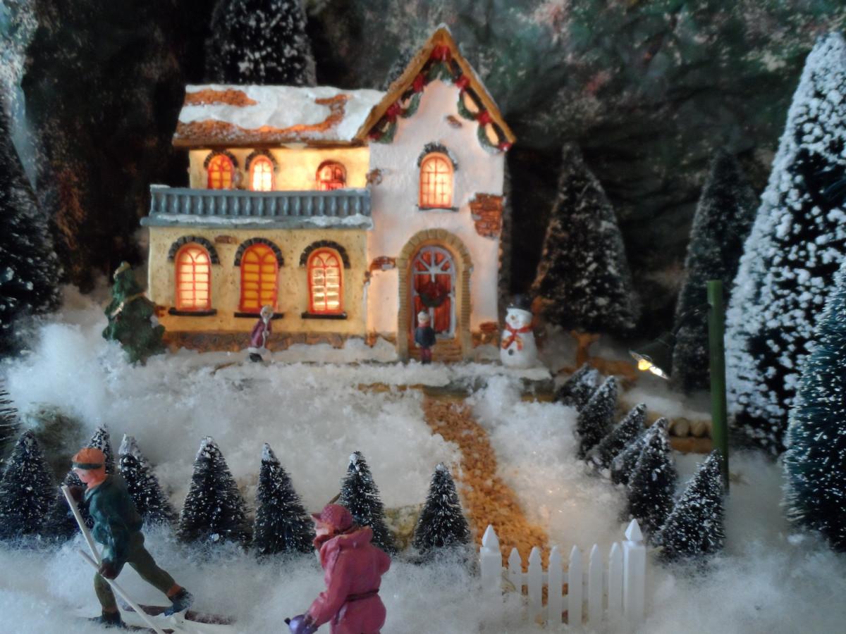 рождество в моей деревне картинки выйти порог, окунаешься