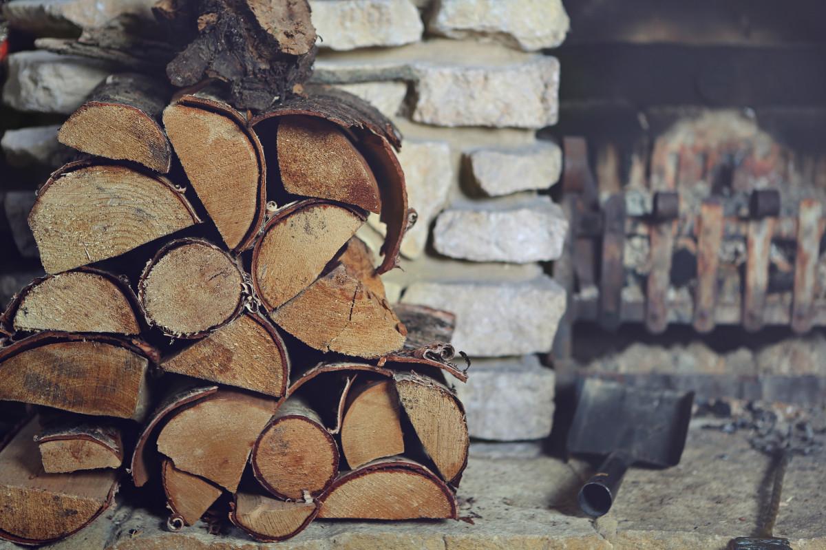 Рабочий, картинки с дровами
