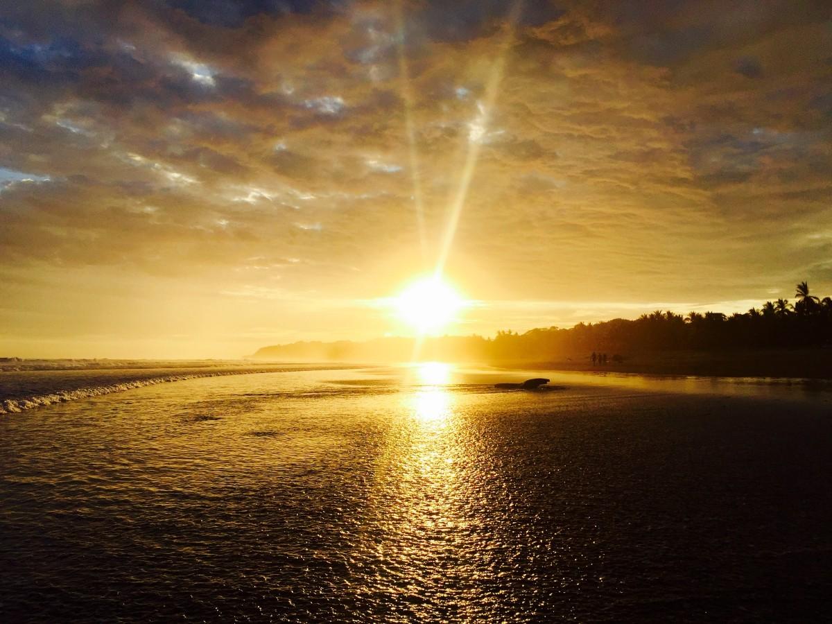 картинки восходящее солнце с лучами каждой