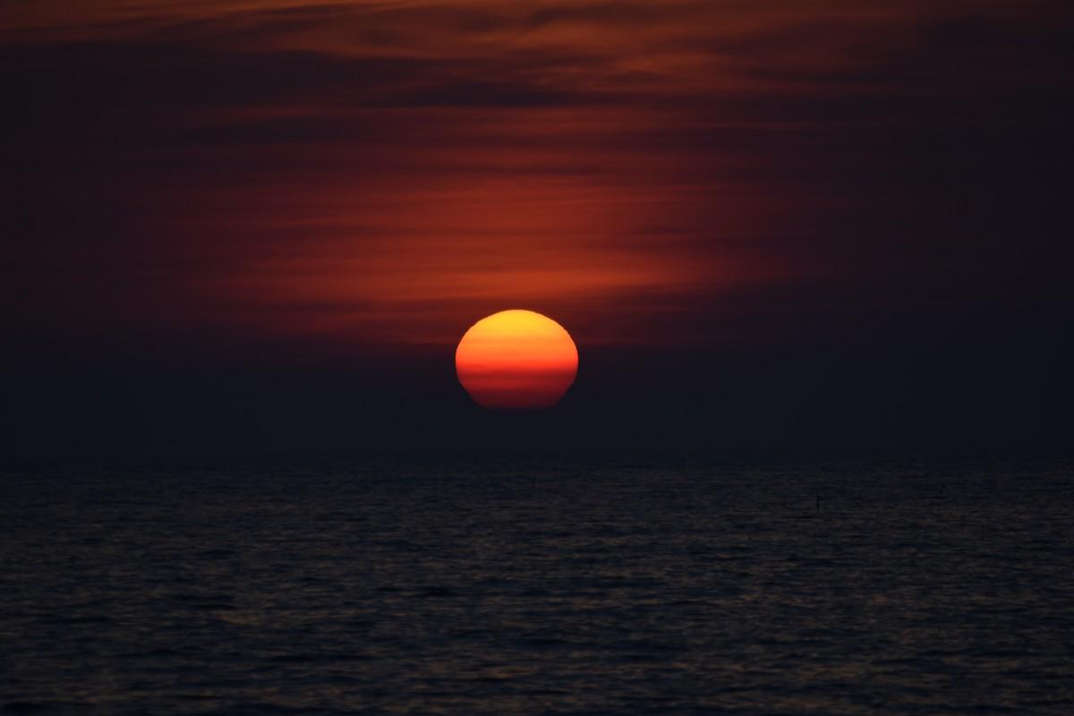 fiery glow burning sunset - photo #41