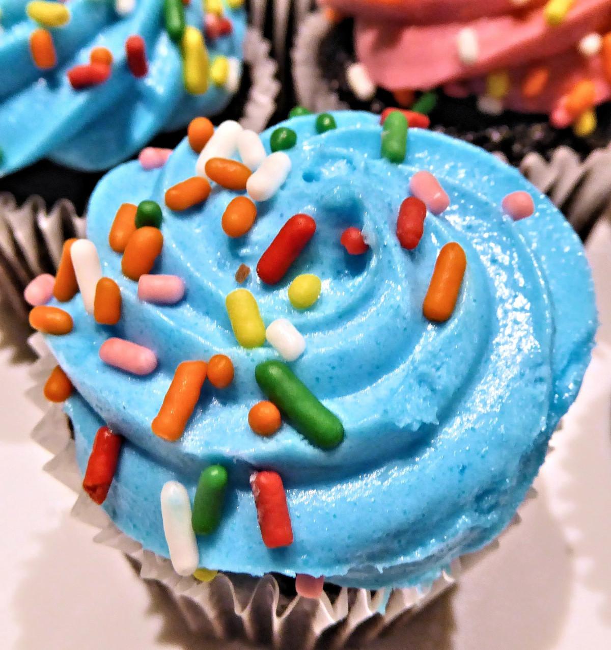 Free Images Sweet Dessert Icing Sprinkles