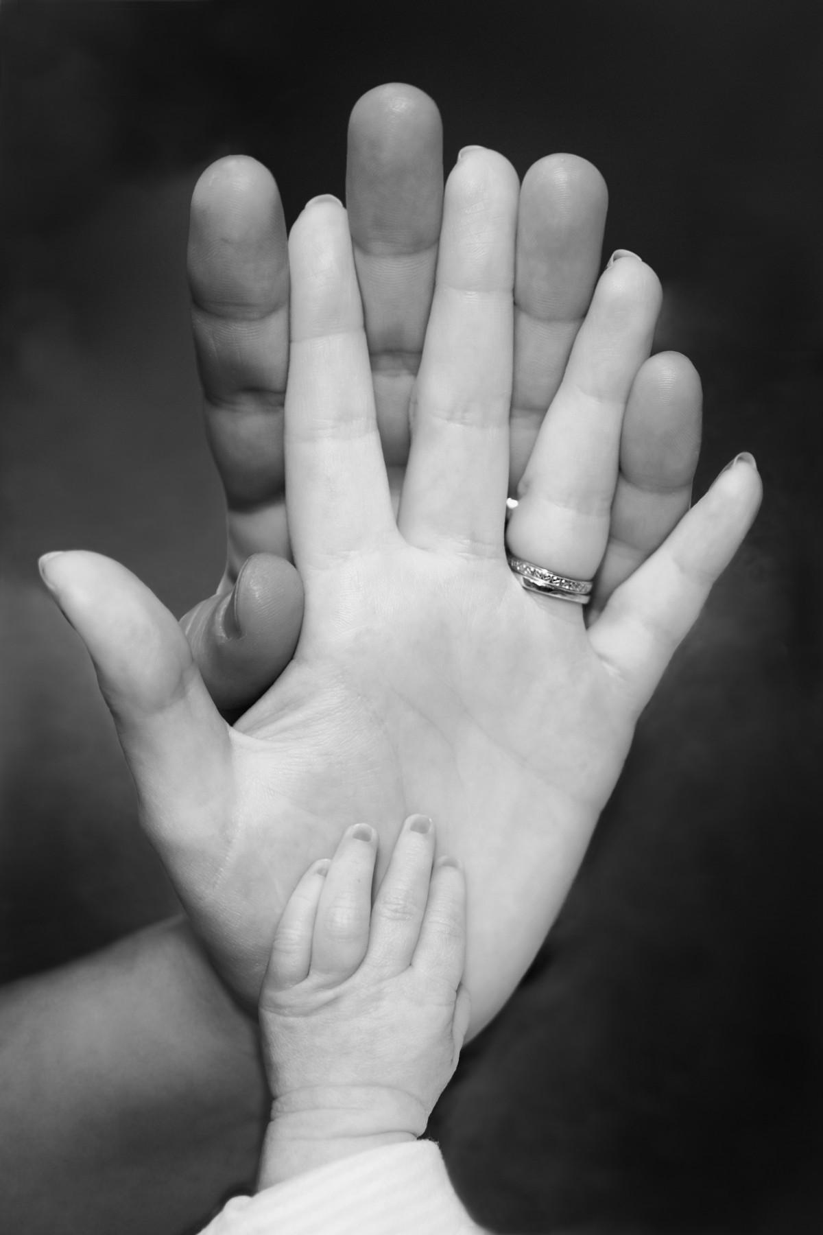 Открытки рука мамы и малыша, новогодней открытки