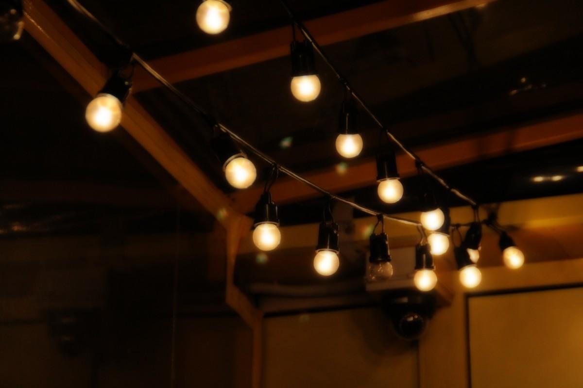 무료 이미지 : 빛, 밤, 레스토랑, 천장, 조리, 조명, 디자인, 식사 ...