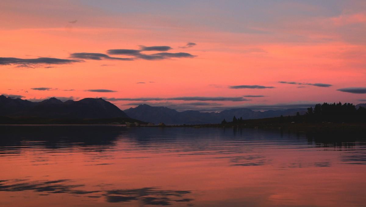 Landscape Sea Horizon Cloud Sky Sunrise