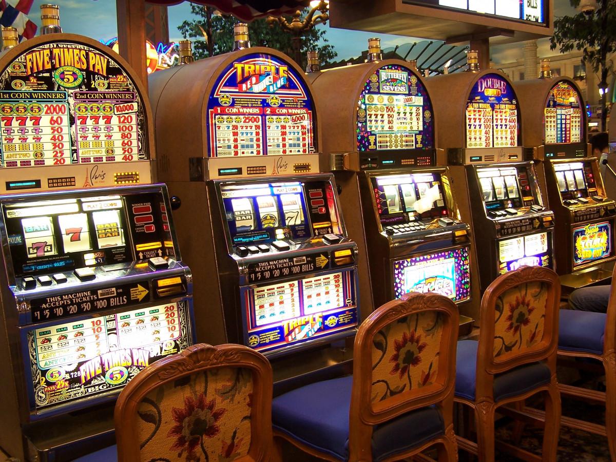 épület, gép, pénzbedobós automata, las, vegas, kaszinó, szerencsejáték, szórakozás