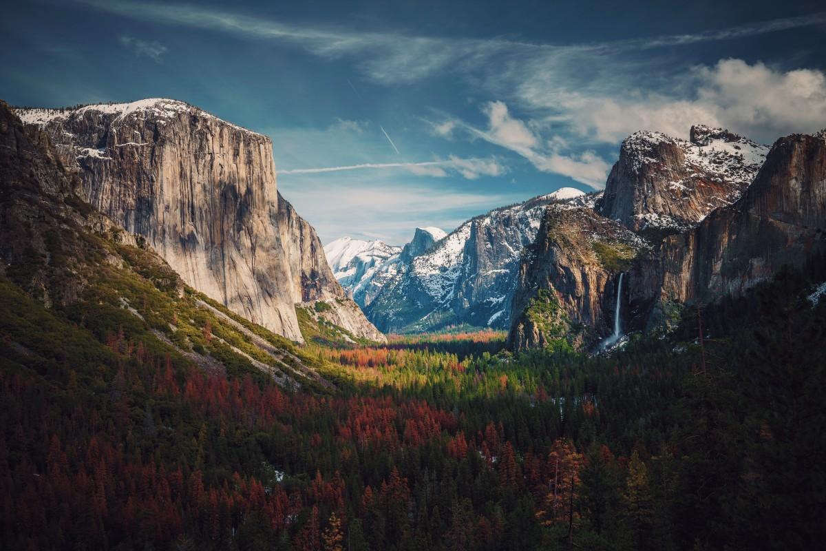 Free images landscape tree nature forest grass rock wilderness winter cloud sky hill - Highland park wallpaper ...