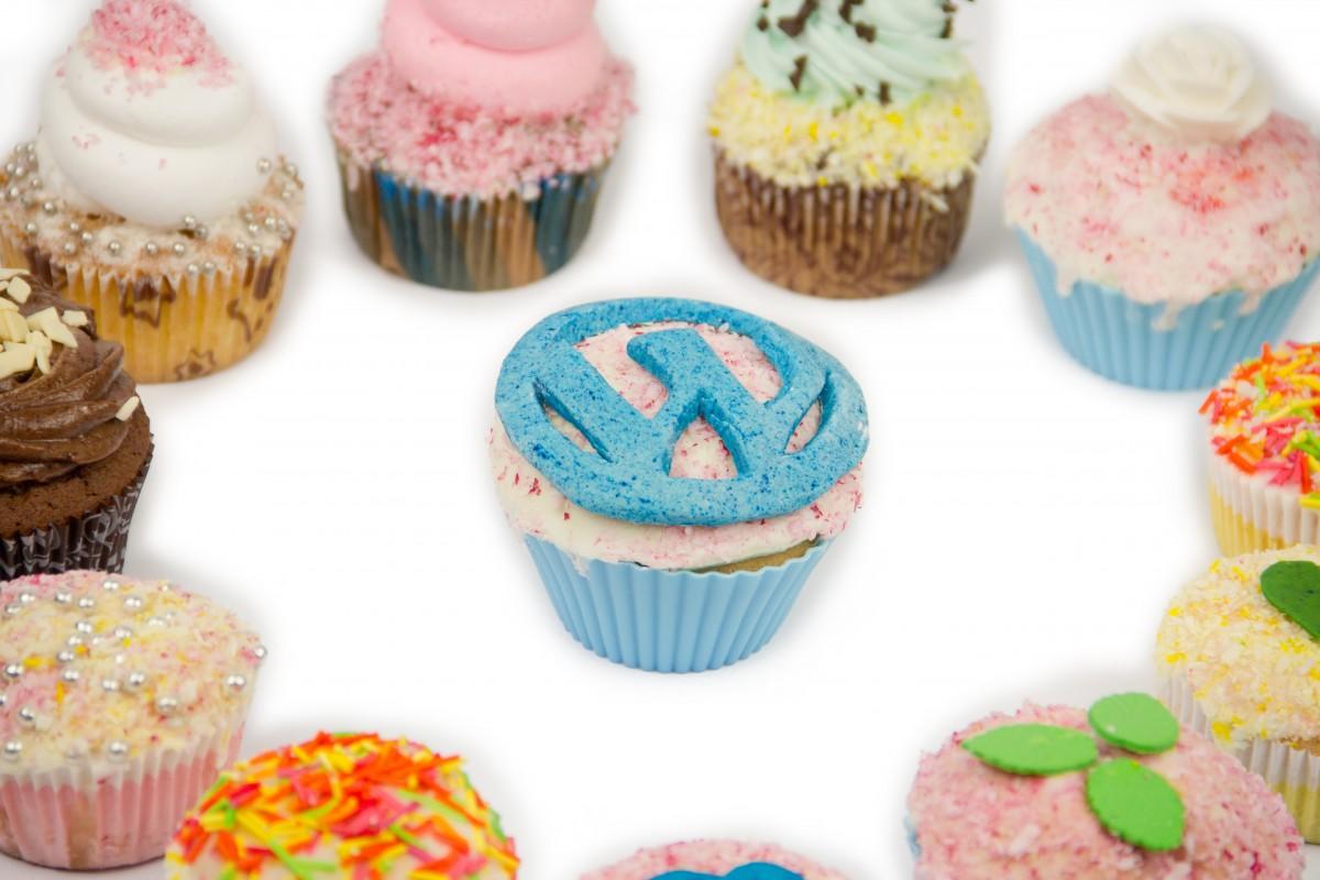 Cup Cake Cream Design : Free Images : sweet, cupcake, dessert, cream, delicious ...