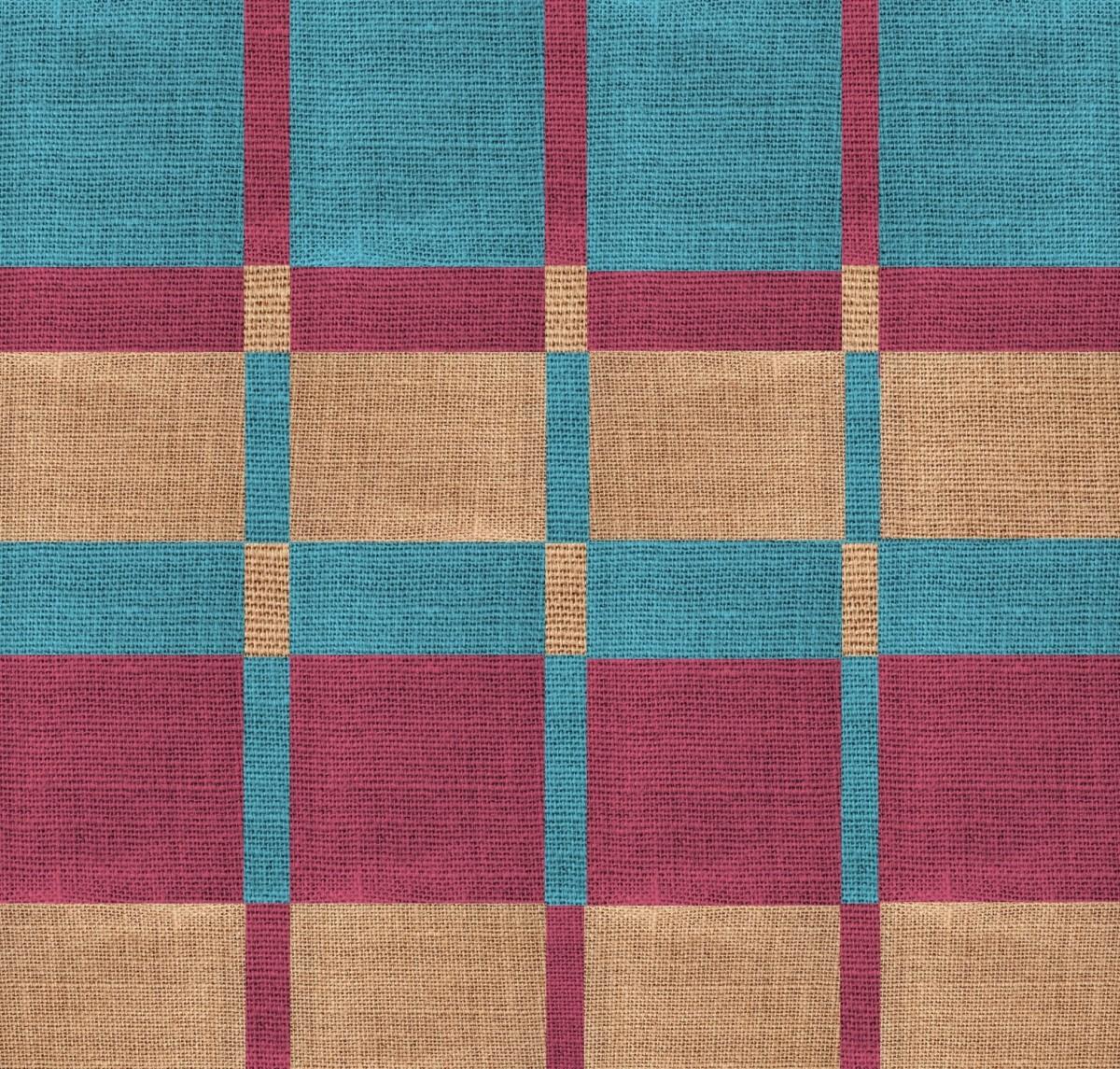 texture violet modèle géométrique Couleur bleu Coloré la laine Matériel cercle en tissu Toile de jute textile art conception beige fond d'écran magenta Emballage Toile de fond bordeaux sol
