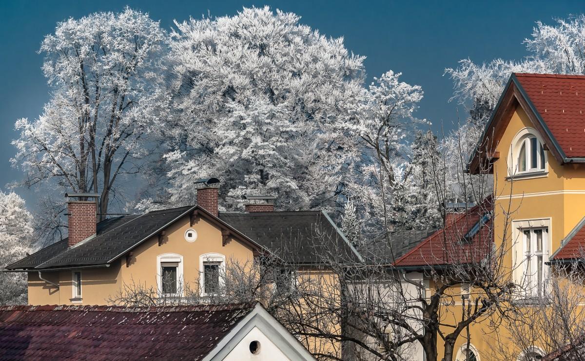 картинки крыши в снегу зарядки
