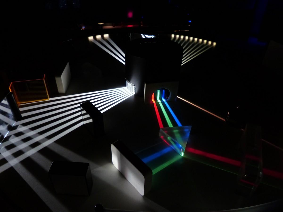 Free Images : optics, laser, stage, mirror, light beam ...