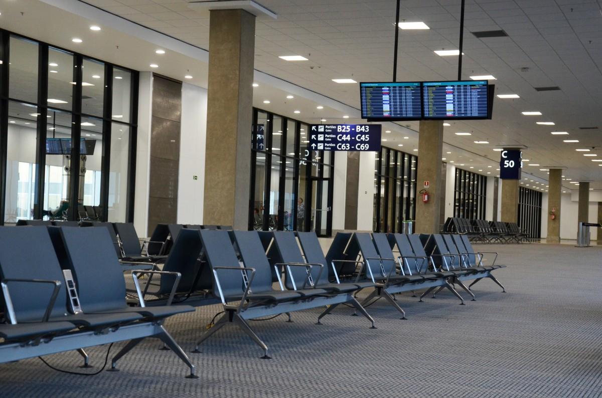 Gambar Struktur Auditorium Terbang Bandara Perjalanan