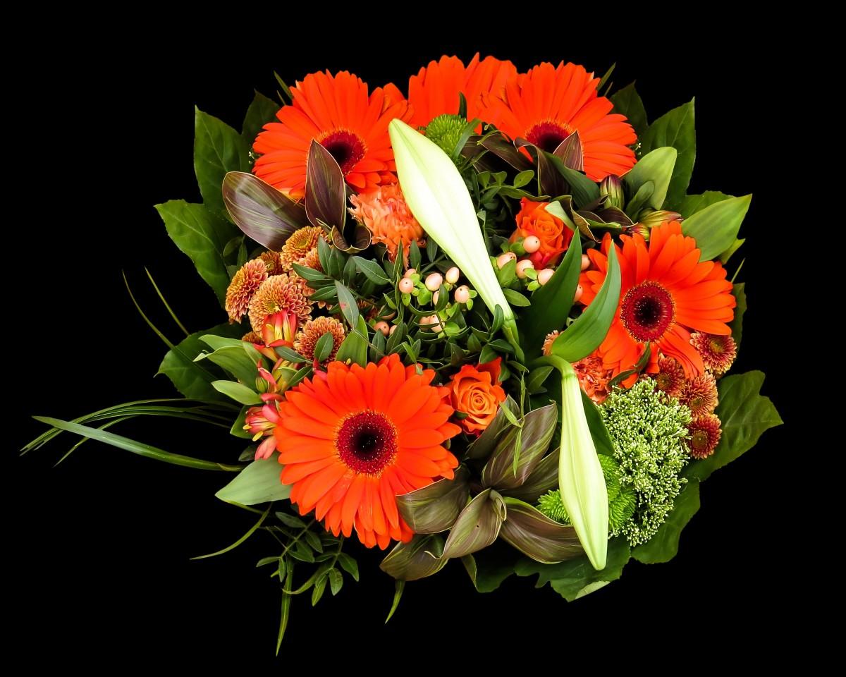 Букет цветов маме на день рождения