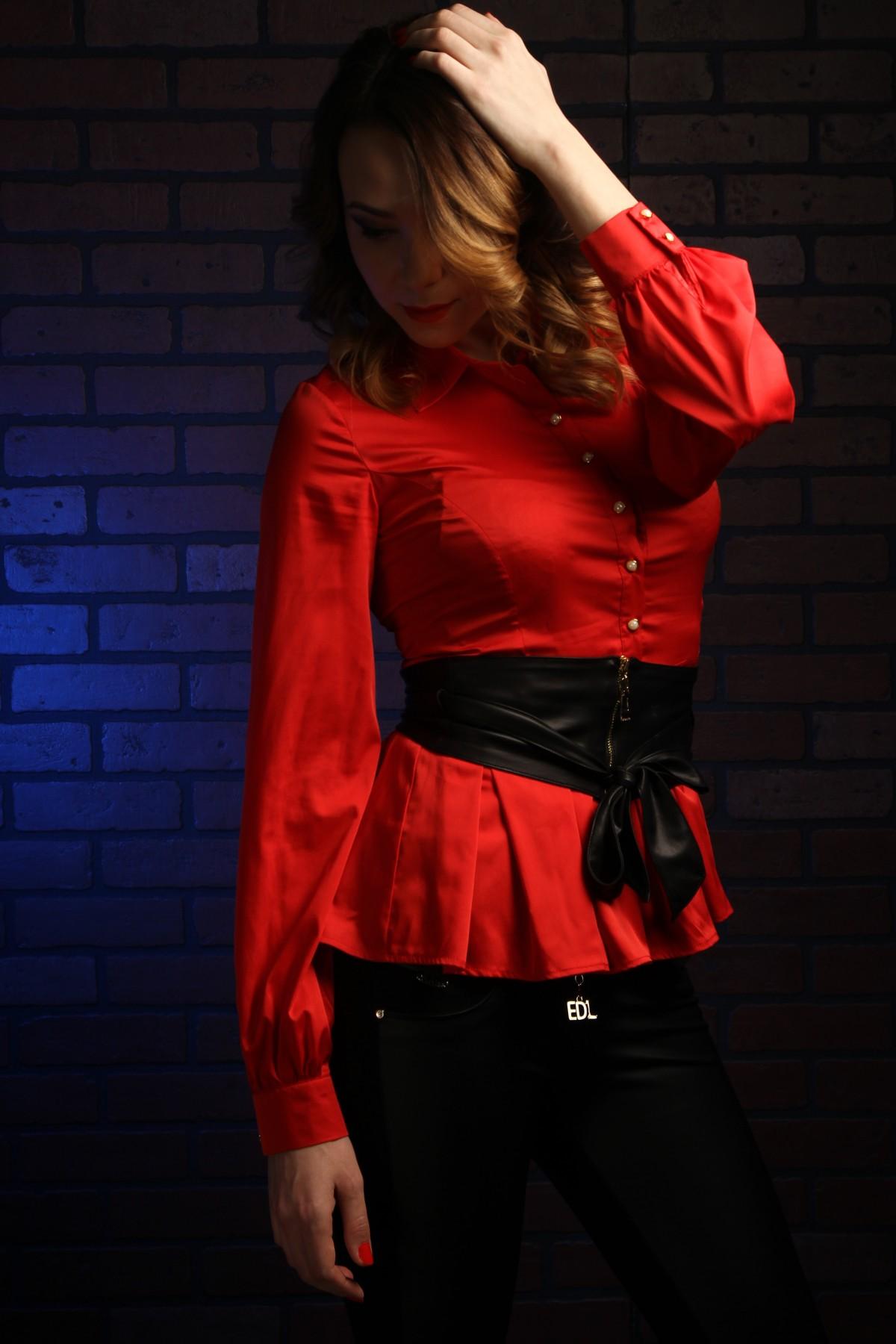 39292dd54197 flicka kvinna läder- modell röd mode Kläder svart lady textil- flickor  klänning kvinnor händer
