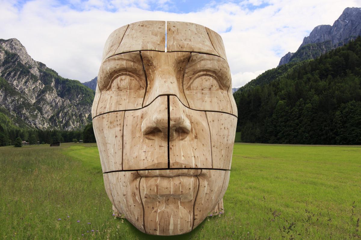 Free images rock trunk hut bag barrel sculpture