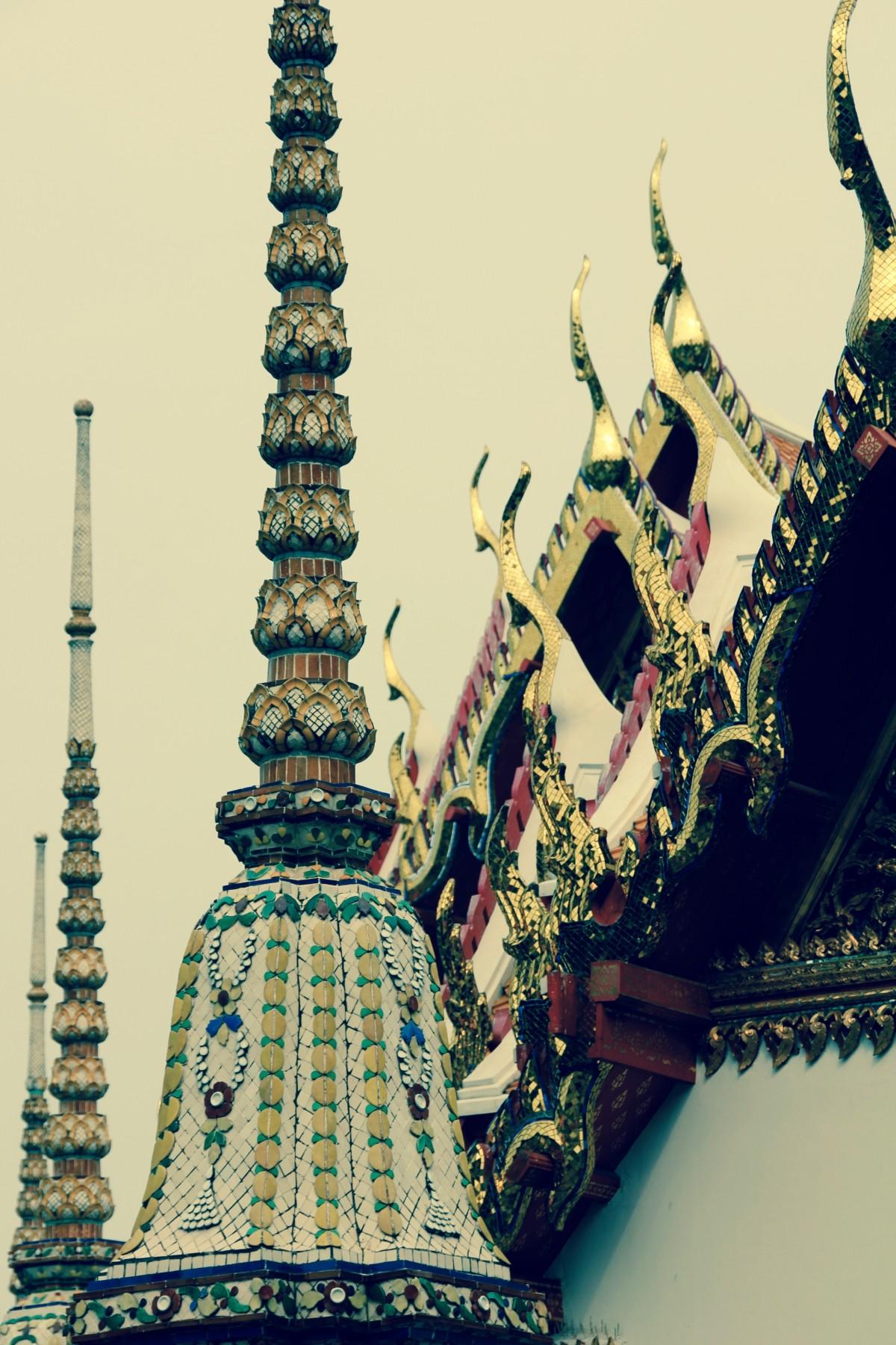 Images gratuites noir et blanc architecture toit for Decoration asie